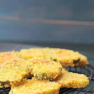 Gluten Free Fried Pickles.