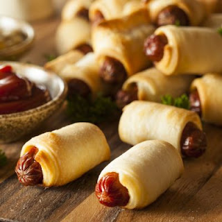 Pigs in a Phyllo Blanket.