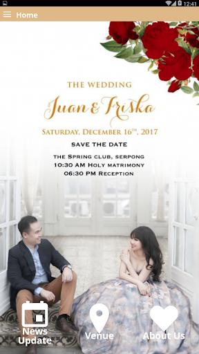 Juan & Friska Wedding 1.8.0 screenshots 2