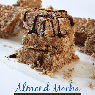 Almond Mocha Protein Rice Bars