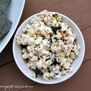 Wasabi Sesame Popcorn