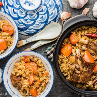 Uyghur Lamb Pilaf (Polo, 羊肉抓饭)