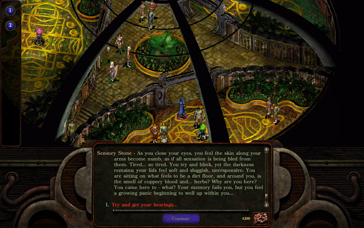 Planescape: Torment: Enhanced Edition Android App Screenshot