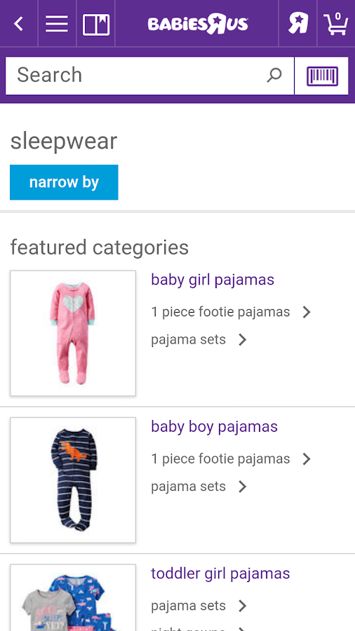 "Babies""R""Us Shopping- screenshot"