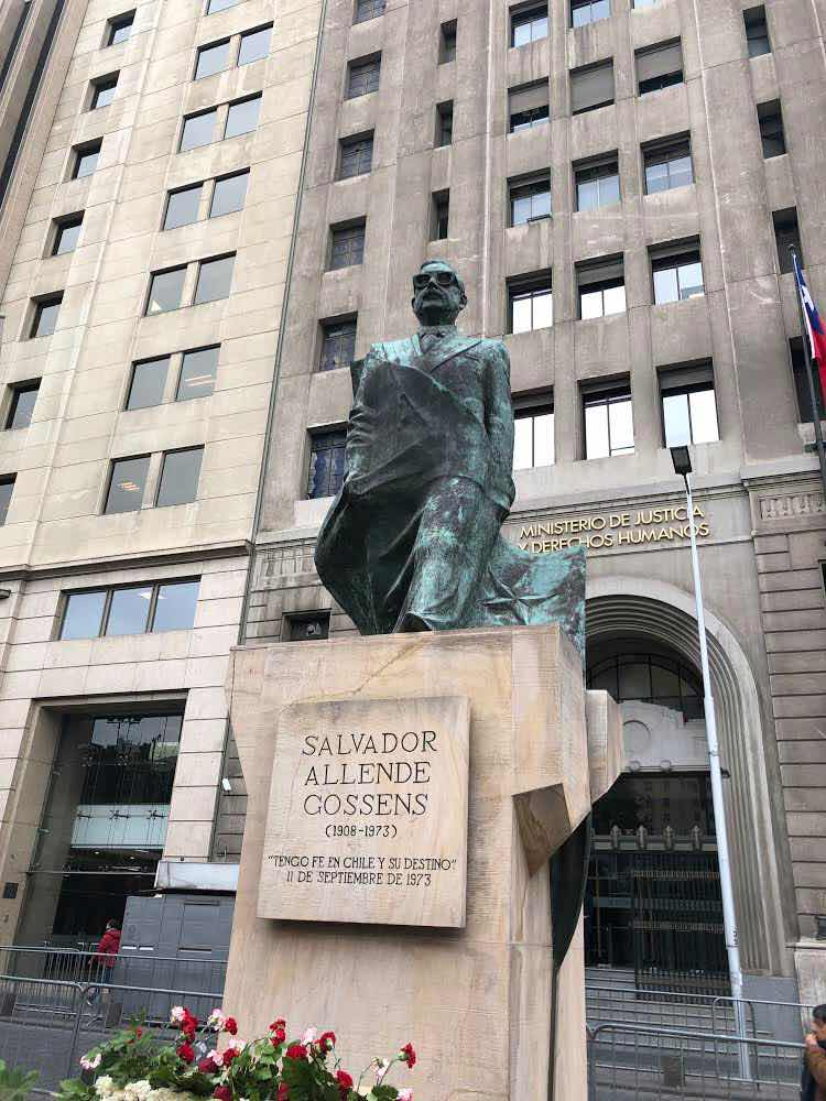 No escaping the political influence of Allende and Pinochet