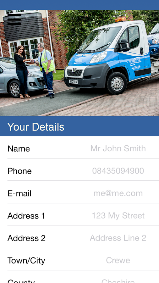 Advance Insurance- screenshot