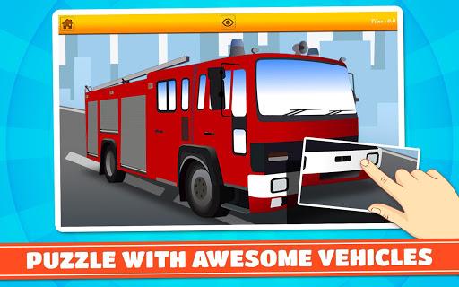 玩免費教育APP|下載汽車,卡車,汽車拼圖 app不用錢|硬是要APP