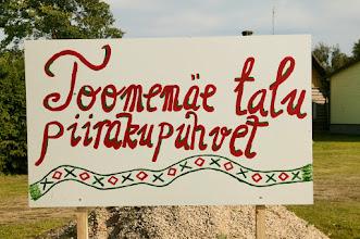 Photo: Toomemäe piirakupuhvet