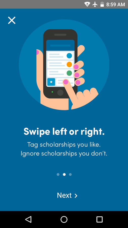 Fastweb College Scholarships- screenshot