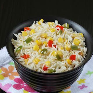 Sweet Corn Fried Rice | Sweet Corn Rice.
