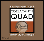 Coelacanth Bourbon Barrel Aged Quad