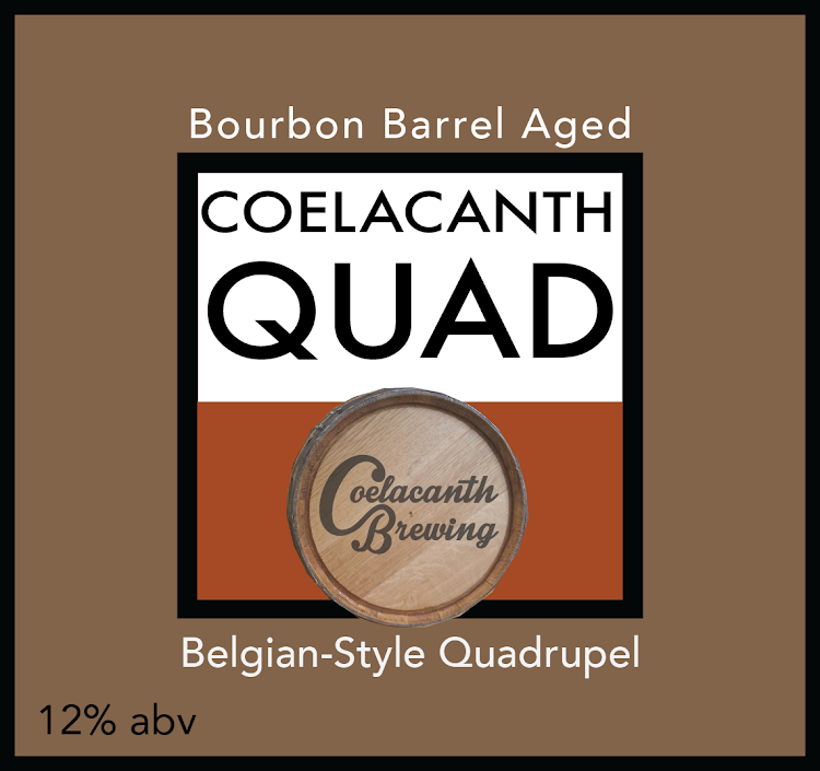 Logo of Coelacanth Bourbon Barrel Aged Quad