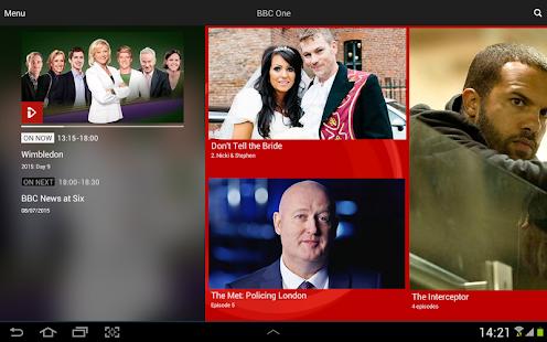 BBC iPlayer- screenshot thumbnail
