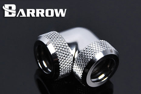 Barrow røradapter, 90°, Ø12mm