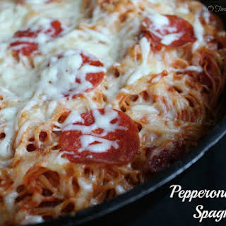 Baked Spaghetti With Pepperoni Recipes.