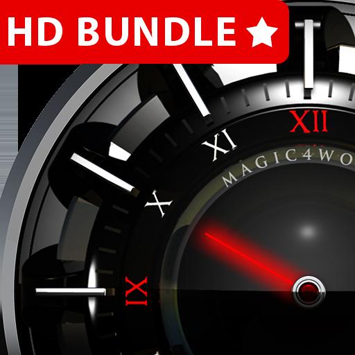 HD Analog Clock Bundle LWP 2