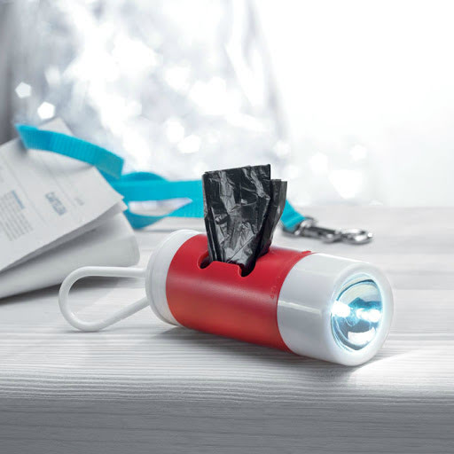 LED Torch Dog Waste Bag Dispensers