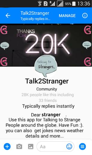 talk2stranger screenshot 1