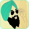 Punjabi Moustache Photo Suit icon