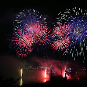 Fireworks by Min Hew - Public Holidays Other