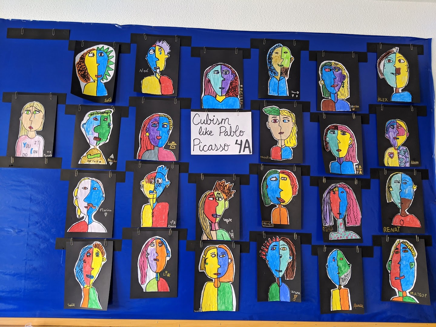 Art wall 2019-20 Primaria