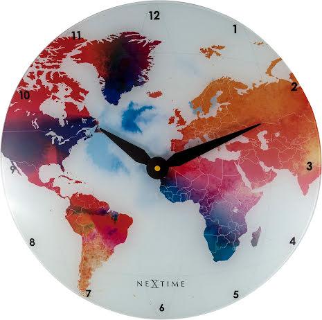 Colorful World Väggklocka ø43cm