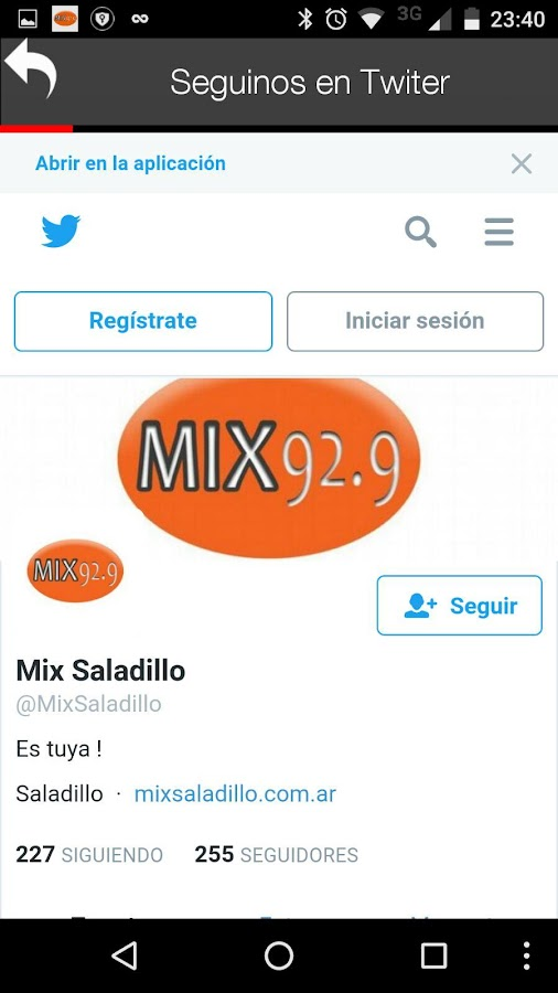 MIX SALADILLO 92.9- screenshot