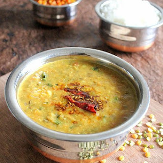 Chilka Moong Dal | Split Green Lentils Dal