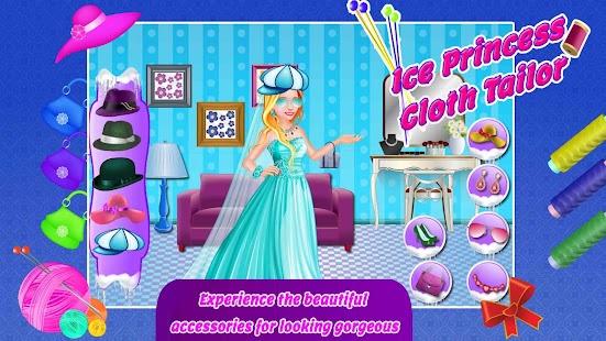 Princess Tailor Designer Games Screenshot Thumbnail