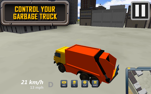 Garbage City Truck 3D