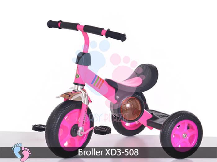 Xe đạp ba bánh cho bé Broller XD3-508 8