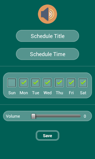 My Time Profile Scheduler
