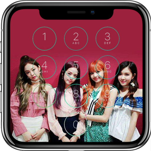 Black Pink Lock Screen