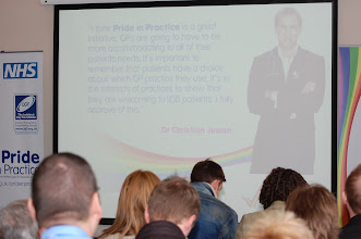 Photo: 'Pride in Practice' has been endorsed by TV's Dr Christian Jessen