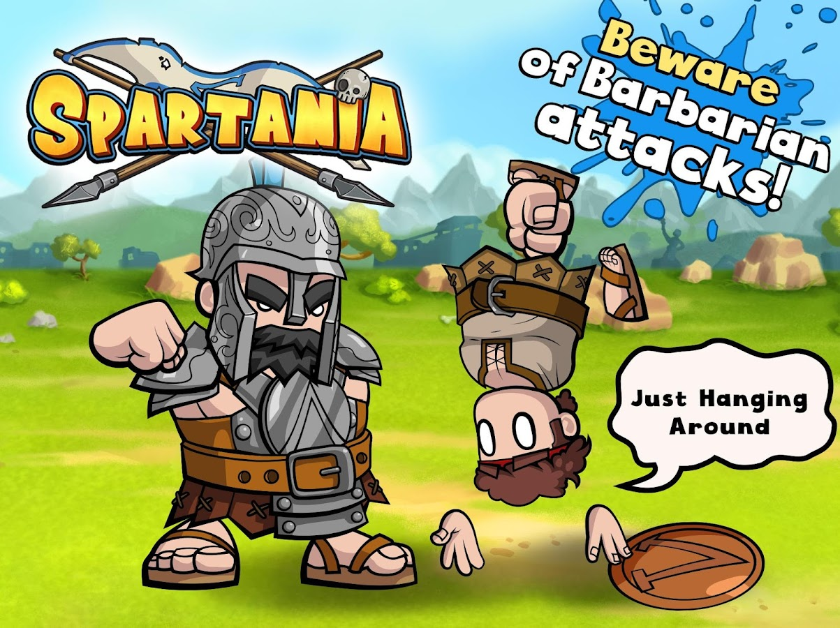 Spartania: Casual Strategy- screenshot