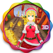 In Subway Princess Run Temple Runner 3D Game