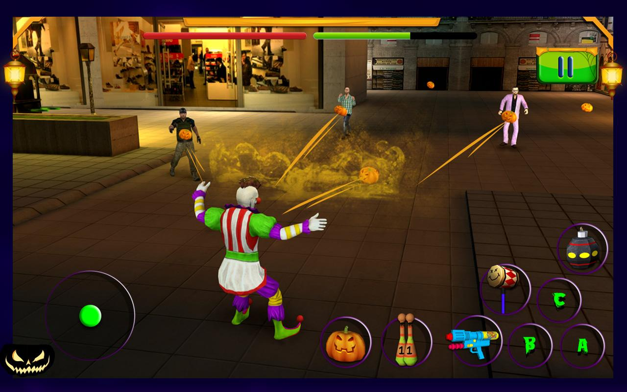 Scary Clown : Halloween Night- screenshot