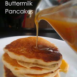 Egg Free Buttermilk Pancakes.