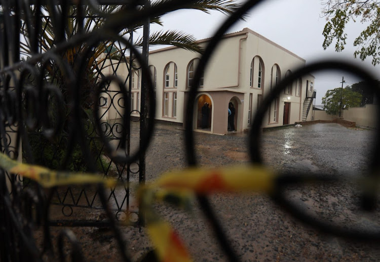 Malmesbury Masjied in Cape Town where a man stabbed two men to death.