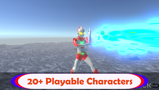 Ultra Hero Fusion : Superhero Ultra Man Battle 1.0.1 screenshots 5