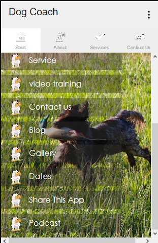 android Dog Coach Screenshot 5