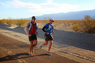 Photo: Two trail runners pretending to be road runners?