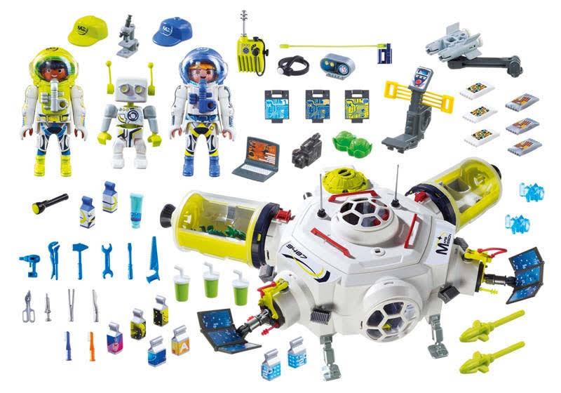 Contenido real de Playmobil® 9487 Estación de Marte