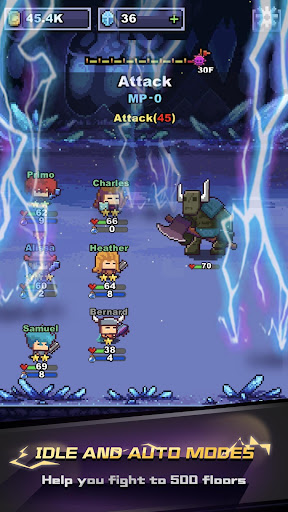 Infinite Knights - Turn-Based RPG 1.1.22 screenshots 4