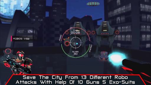VR AR Dimension - Robot War Galaxy Shooter screenshots 5