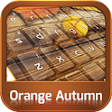 GO Keyboard Orange Autumn icon