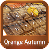 Keyboard Orange Autumn