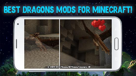 Dragons Mod For Minecraft Apps Bei Google Play - Minecraft hauser mit einem klick mod