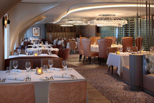 Cosmopolitan is one of four complimentary restaurants aboard your Celebrity Edge class cruise.