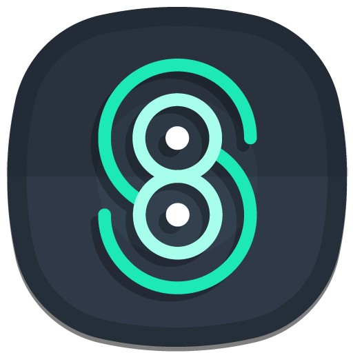 Nightmare Squircle ~ Dark S8/S9 Icon Pack APK Cracked Download